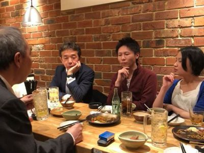 2018.2.7 月例MTG後の飲み会